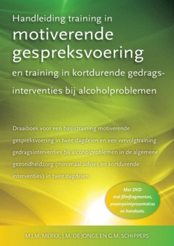 Handleiding training in Motiverende Gespreksvoering en ...